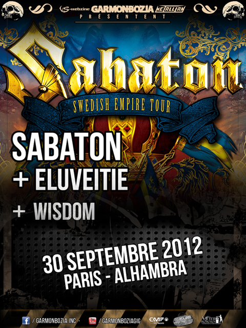 Eluveitie @ Paris