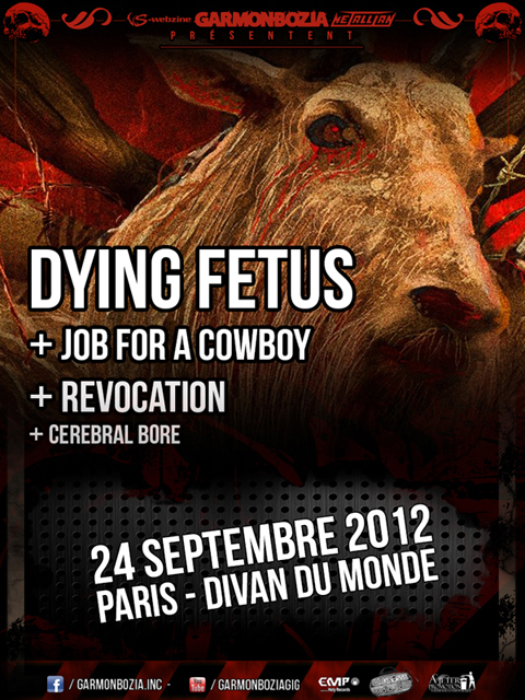 Dying Fetus @ Paris