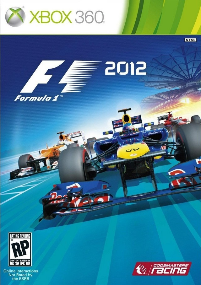 F1 2012 Poster