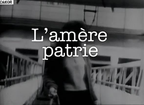 L'amère patrie - 10/09/2012 [TVRIP]