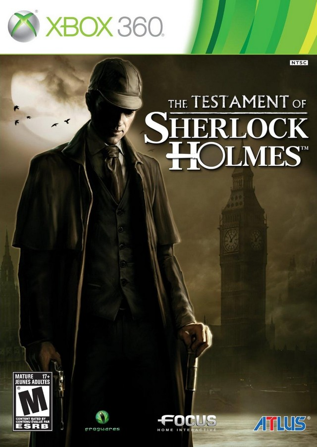 12091707292112067610330183 The Testament of Sherlock Holmes PAL [ XBOX360 ]