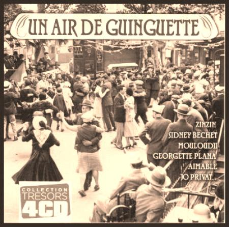 Un air de guinguette collection trésor [Mp3|4cd] [Multi]
