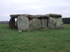 sites proches - Gennes le dolmen