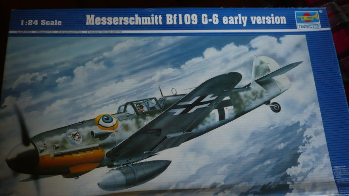 Projet Gunther Rall, Me BF 109 G6 et Mercedes 540 K + figurines au 1/24 12092212111011093710347078