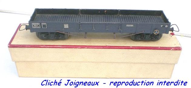 Wagons plats à bogies maquette et semi maquette vides 1209270549298789710368747
