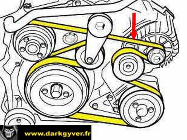 Galet tendeur p38 diesel 1209270642474685610368974
