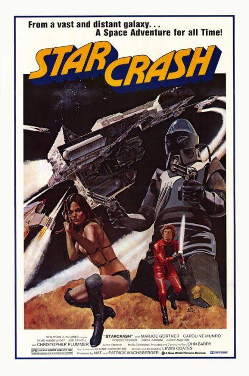MAKING DE STAR CRASH dans Cinéma bis 12093010193115263610377194