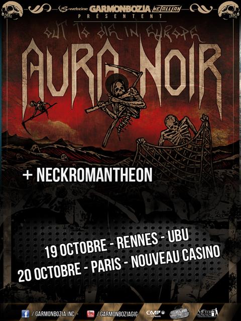 Aura Noir @ Paris