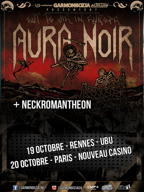 Aura Noir @ Rennes