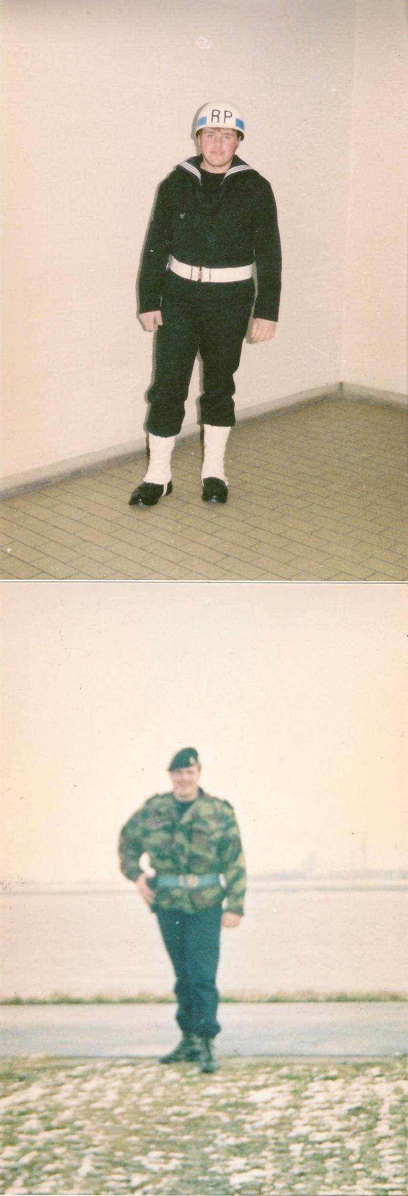 retrouvé des photos de mon service militaire  12100309360215458210392595