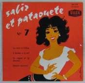 BEDOS JACQUES - Sabir et Pataouète N° 7 - 45T (EP 4 titres)