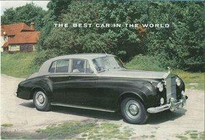 Encart publicitaire Rolls-Royce Silver Cloud
