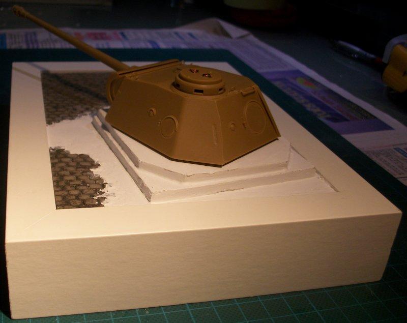 Bunker avec tourelle de PANTHER 12100505534314106610399517