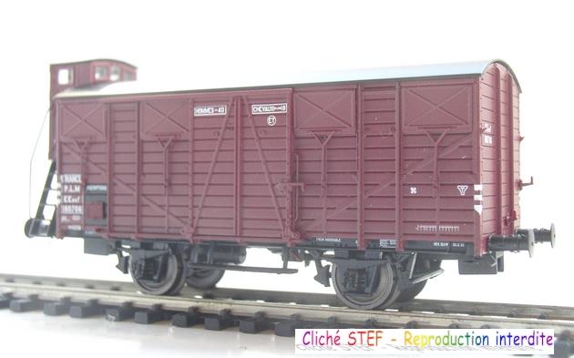 L.S. Models - Coffret de 3 wagons PLM type OCEM 1210061005578789710404695