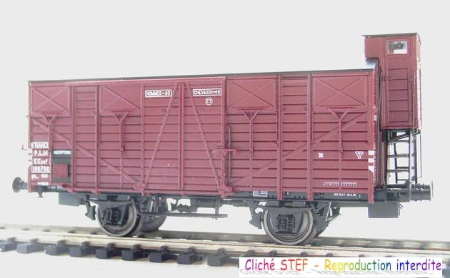 L.S. Models - Coffret de 3 wagons PLM type OCEM 1210061005578789710404696