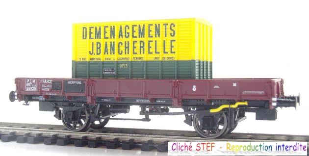 L.S. Models - Coffret de 3 wagons PLM type OCEM 1210061006048789710404705