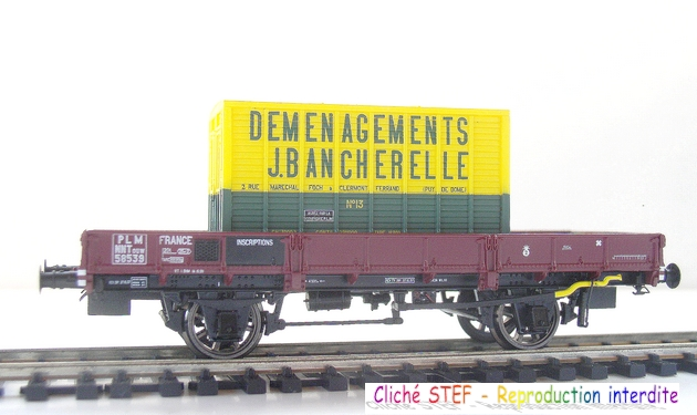 L.S. Models - Coffret de 3 wagons PLM type OCEM 1210061006048789710404706