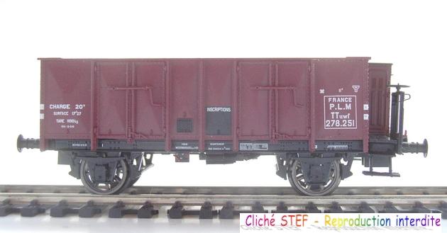 L.S. Models - Coffret de 3 wagons PLM type OCEM 1210061006068789710404711