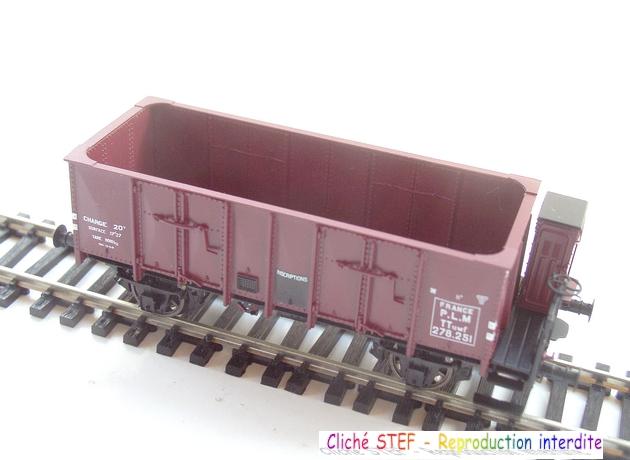 L.S. Models - Coffret de 3 wagons PLM type OCEM 1210061006068789710404713