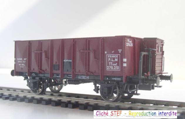L.S. Models - Coffret de 3 wagons PLM type OCEM 1210061006078789710404714