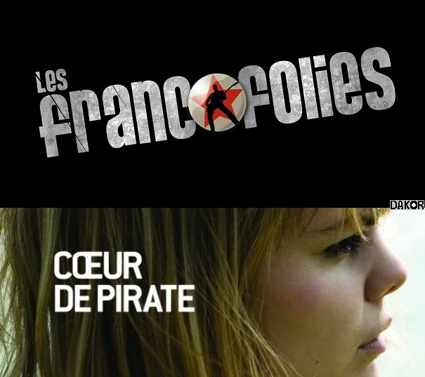 Coeur de pirate - Francofolies 2010 [TVRIP]