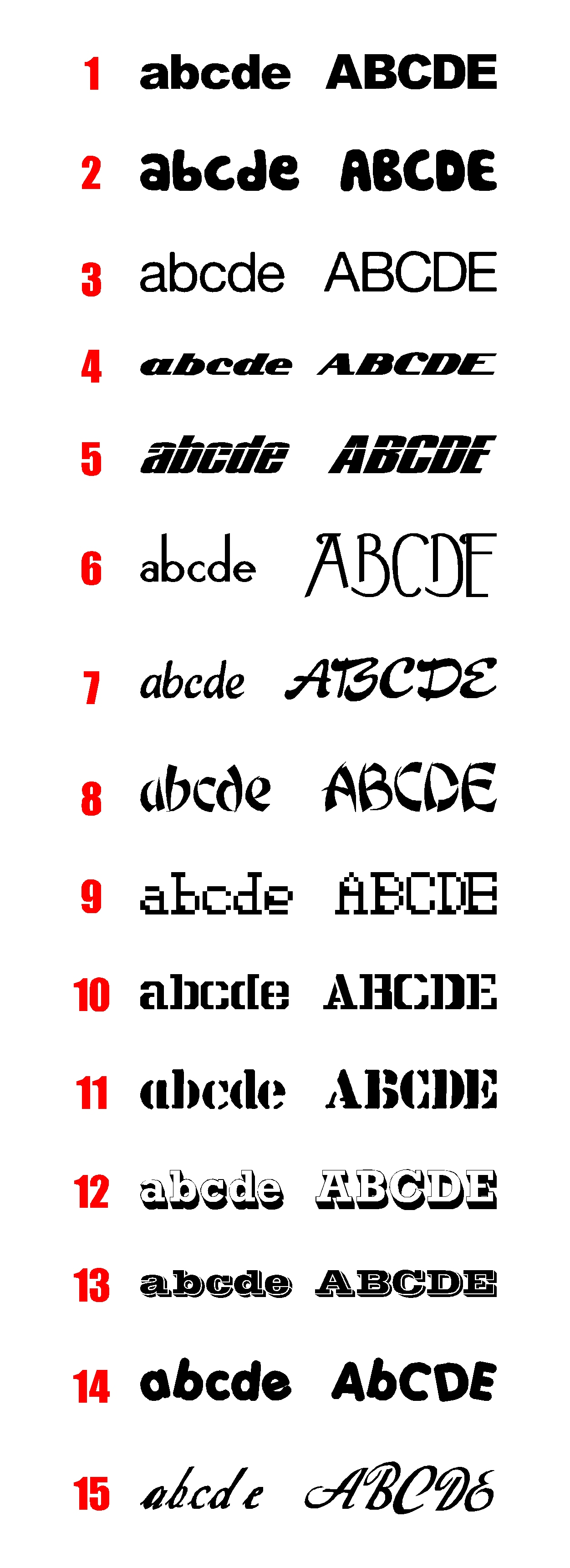 Lots 52 stickers alphabet ref 2 d coration int rieur maison ou d co ext rieur - Stickers pour maison ...