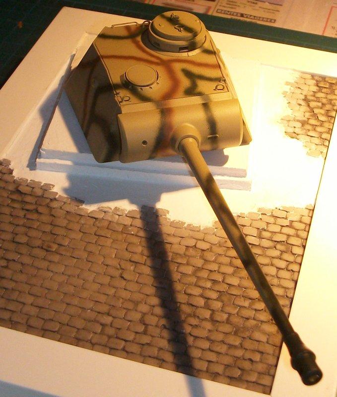 Bunker avec tourelle de PANTHER 12100804573814106610411385