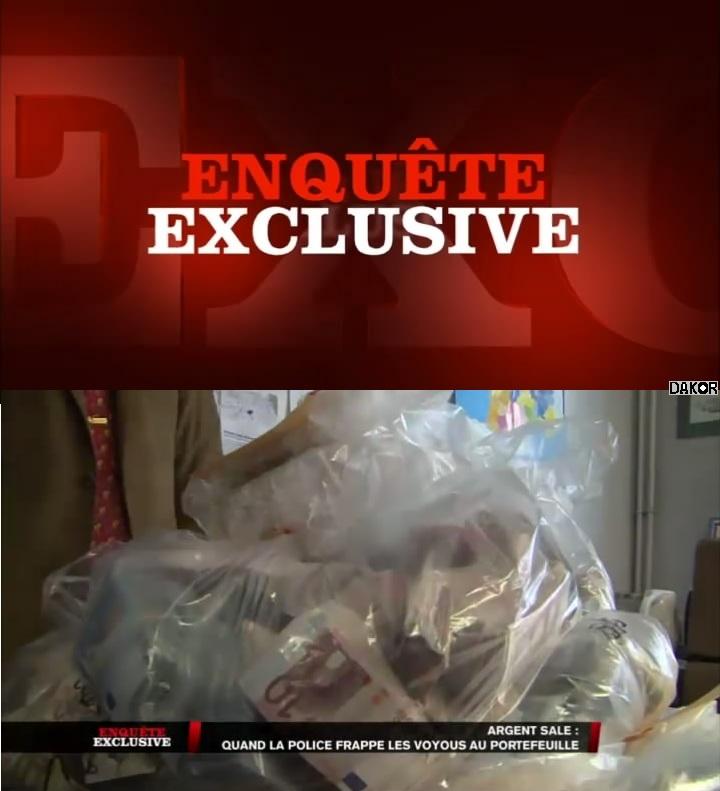 Enquête exclusive - Argent sale : quand la police frappe les voyous au portefeuille - 07/10/2012 [TVRIP]