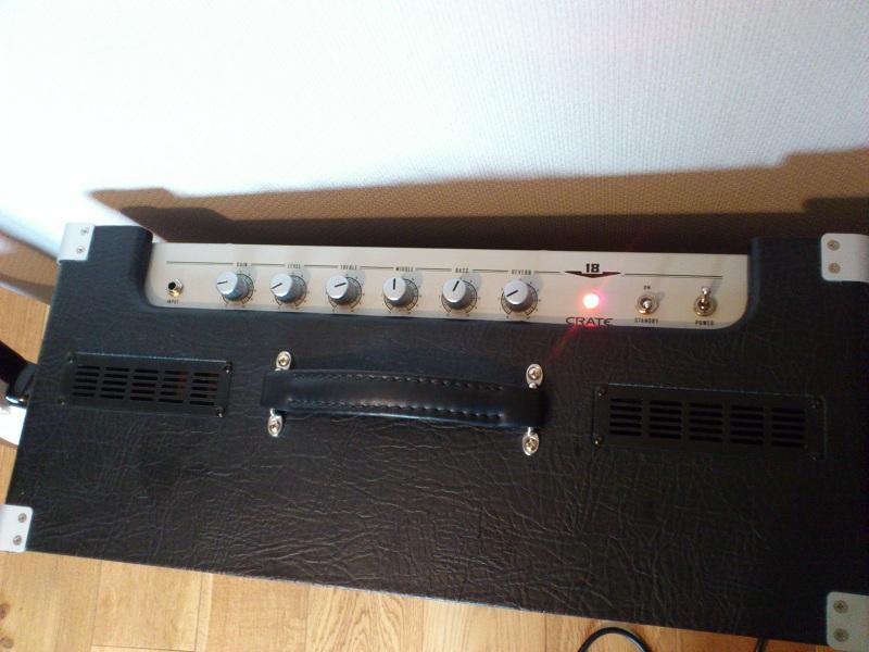 Ampli lampes CRATE V18 12100912104211623510414160
