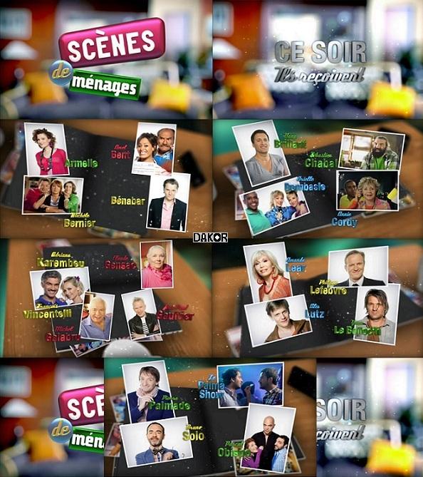 Scènes de ménages : ce soir, ils reçoivent - 08/10/2012 [TVRIP]