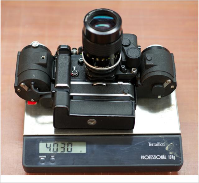 Nikon F2+250v poids