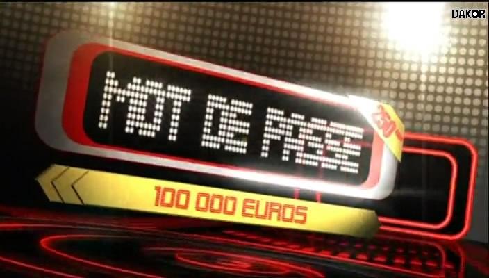 Mot de passe - 250eme - 13/10/2012 [TVRIP]