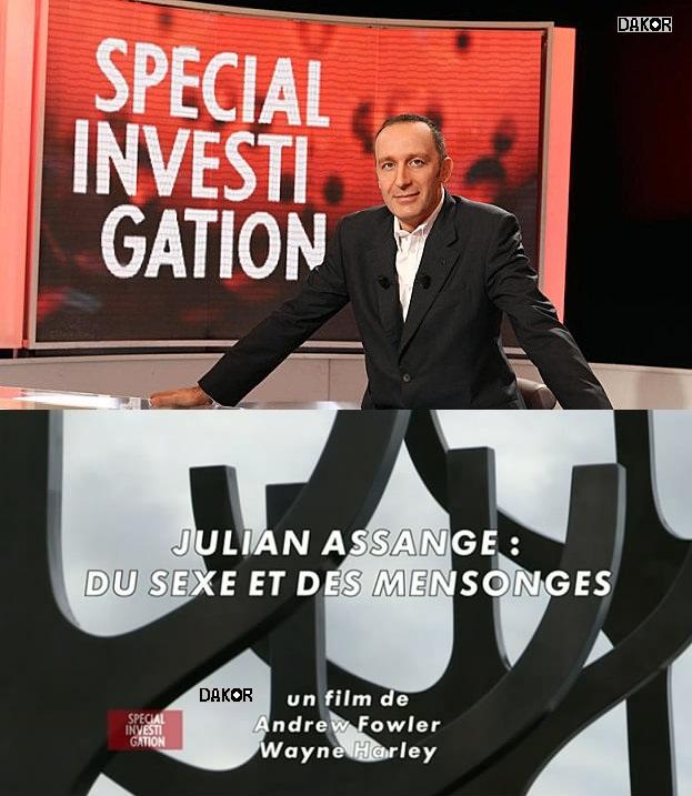 Spécial investigation - Julian Assange : du sexe et des mensonges - 15/10/2012 [FRENCH][PDTV]