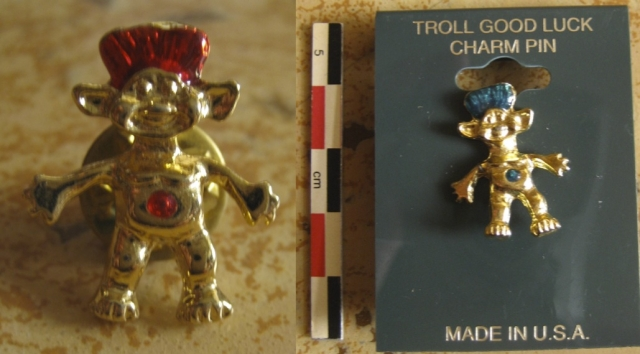 Pins, broches et badges trolls (Made In China-sans marque) 12102204393815254110464861