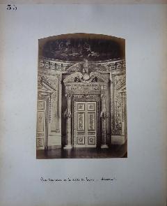 Richebourg 30 - Pierre Ambroise Richebourg Porte Salle du Trone Sénat