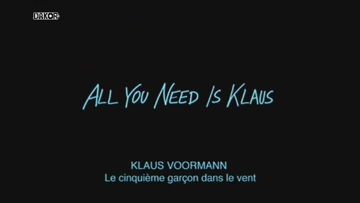 Klaus Voormann - Le cinquième garçon dans le vent [TVRIP]