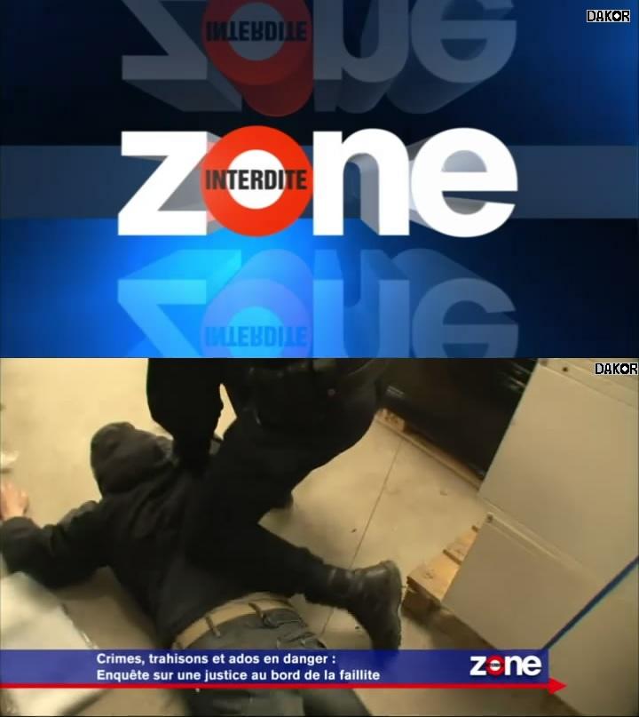 Zone interdite - Crimes, trahisons et ados en danger : enquête sur une justice au bord de la faillite - 21/10/2012 [TVRIP]
