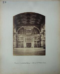 Pierre Ambroise Richebourg<br /> Cheminée Henry II<br /> Fontainebleau.JPG