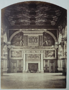 Pierre Ambroise Richebourg<br /> Cheminée Henry II<br /> Fontainebleau (1).JPG