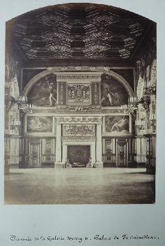 Pierre Ambroise Richebourg<br /> Cheminée Henry II<br /> Fontainebleau (2).JPG