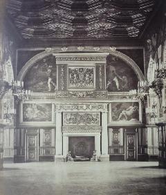 Richebourg 34 - Pierre Ambroise Richebourg Cheminée Henry II Fontainebleau (3)