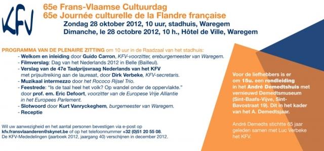 Het KFV : Komitee voor Frans-Vlaanderen 12102511060014196110475936